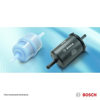 Filtro de Combustível - DB 0400 - Bosch - 0986BF0400 - Unitário