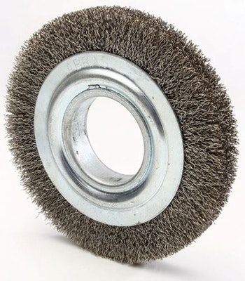 Escova Circular 150x19mm Fio 0,40mm 6000Rpm - Diametro - 7000-60 - Unitário
