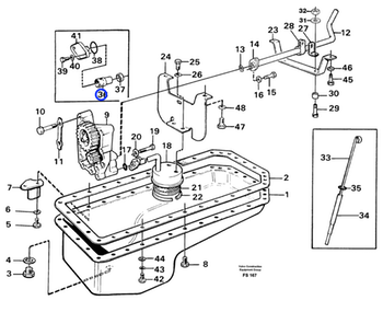 Mola de Compressão - Volvo CE - 469332 - Unitário