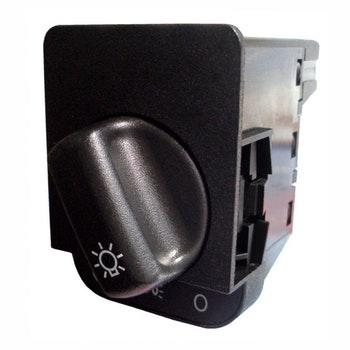 Interruptor Luz P/ Farol. Luz Teto E Lanterna Gm/Opel/Vauxhall 1241319/90381877-10 Terminais 12V - DNI - DNI 2171 - Unitário