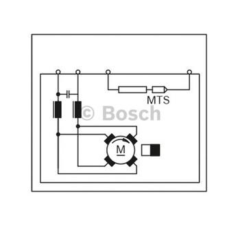 MOTOR DE ARREFECIMENTO C.C. GPB 24V 350W - Bosch - F006KM060N - Unitário