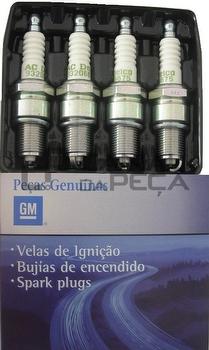 Vela de Ignição - Original Chevrolet - 93328727 - Unitário