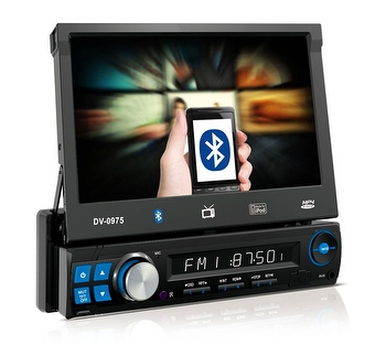 "Central Multimídia de 7"" de Sistema Retrátil com TV Digital, Bluetooth, entrada USB, Aux. e SD card. - AR70 - MM730 - Unitário"