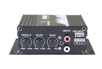 Amplificador Digital 2 Canais 500W Pmpo 8 Ohms - Multilaser - AU902 - Unitário