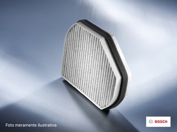 Filtro do Ar Condicionado - CB 0566 - Bosch - 0986BF0566 - Unitário