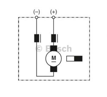 MOTOR DE VENTILAÇÃO - Bosch - 9130451143 - Unitário