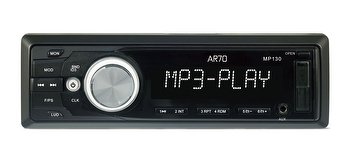 MP3 Player com entradas USB, SD e painel destacável - AR70 - MP130 - Unitário