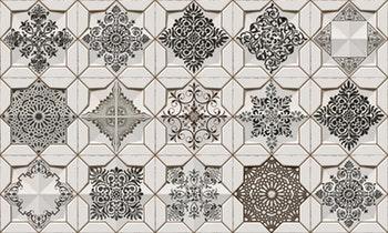 Revestimento Acetinado Rabat Mandala 21 x 21cm - Ceusa - 2126 - Unitário