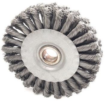 Escova Circular 150x19mm Fio 0,50mm 9000Rpm - Abrasfer - 7010-15A - Unitário