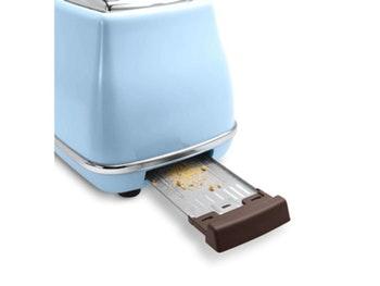 Torradeira Icona Vintage Azul Claro - 800 W - De'Longhi - CTOV2103.AZ 127V - Unitário