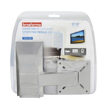 """Suporte Articulado para TV LED, LCD, Plasma, 3D e Smart TV de 10"""" a 55"""" - SBRLB 130B - Brasforma - 1339486 - Unitário"""