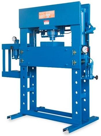 Prensa Hidráulica Manual Standard 100Ton com Auxiliar 15Ton - Bovenau - P-100101 - Unitário