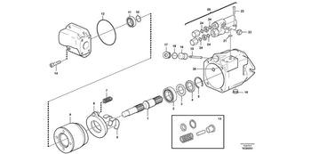 Bomba Hidráulica REMAN - Volvo CE - 9011172358 - Unitário