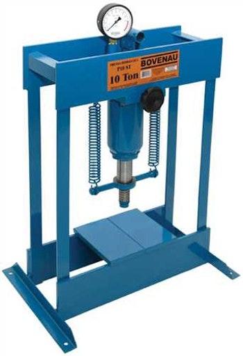 Prensa Hidráulica Manual Standard 10Ton P-10000 - Bovenau - P-10000 - Unitário
