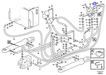Niple de Redução - Volvo CE - 11445391 - Unitário