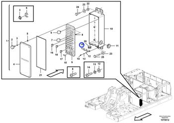 Caixa de Fusíveis - Volvo CE - 14683132 - Unitário