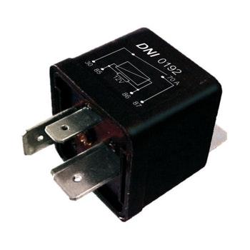 Relé Auxiliar com Resistor Audi / Vw / Gm / Fiat - 12V e 4 Terminais (2 Largos) - DNI - DNI 0192 - Unitário