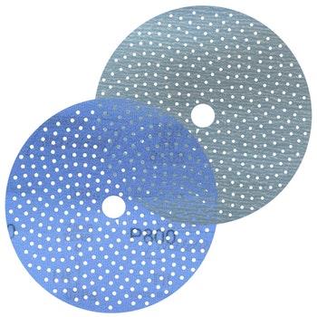 Disco de lixa Cyclonic A975 grão 800 152mm c/ x furos - Norton - 66261115884 - Unitário