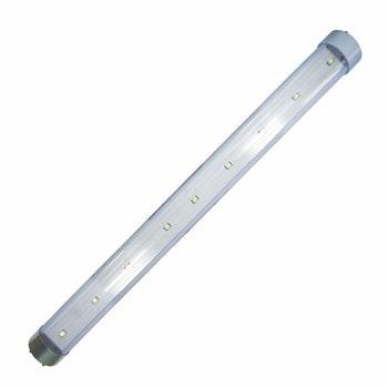 Lâmpada Tubular com 9 LEDs SMD - 12V/24V - DNI 8838 - DNI - DNI 8838 - Unitário