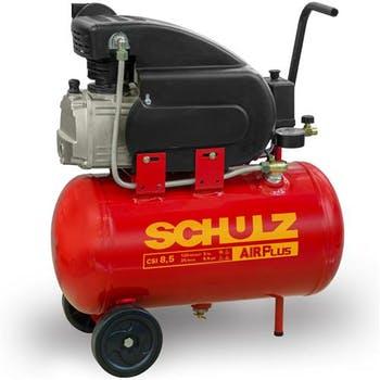 Motocompressor de Ar Alternativo de Pistão CSI-8.5/25 com Rodas, Motor Monofásico 2CV 2P 127V - Schulz - 915.0399-0 - Unitário