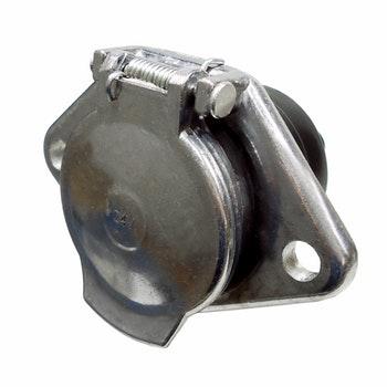 Tomada de Engate Fixa 7 Polos Alumínio Reforçado - DNI 8322 - DNI - DNI 8322 - Unitário