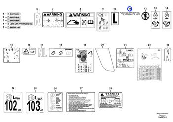Decalque - Volvo CE - 1192-03840 - Unitário