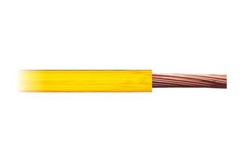 Cabo Flexível Amarelo Para Instalação Automotiva - DNI - DNI HFX 050-AM - Unitário