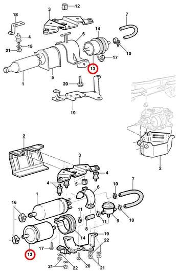 Filtro de Combustível - Original Chevrolet - 25126130 - Unitário
