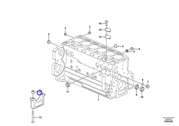 Bucha - Volvo CE - 20460001 - Unitário
