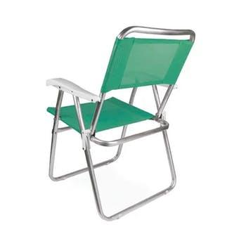 Cadeira de Praia Master Alumínio Fashion - Mor - 2116 - Unitário