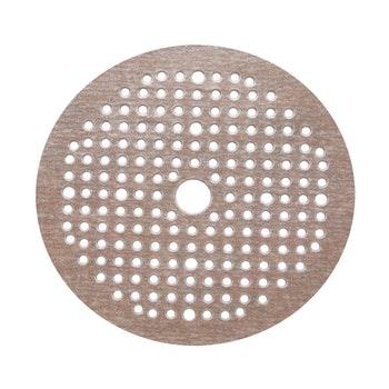 Disco de lixa seco A275 grão 320 150mm c/ 180 furos - Norton - 69957349657 - Unitário