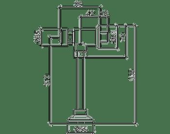 Válvula para Mictório Smart System Cromado - Lorenzetti - 7010141 - Unitário