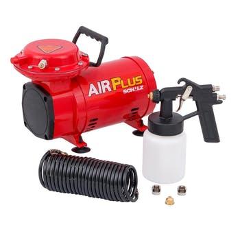 Motocompressor de Ar Modelo Jet Master Air Plus MS2 2,8 Bar Monofásico 1/3CV 4P 110/220V - Schulz - 920.1112-0 - Unitário