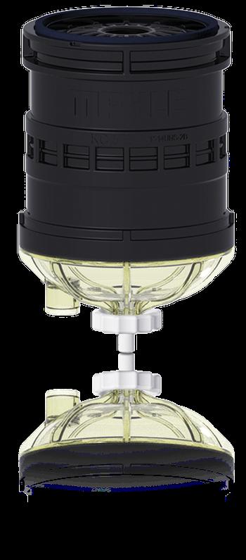 Filtro Blindado de Combustível - MAHLE - KC573 - Unitário