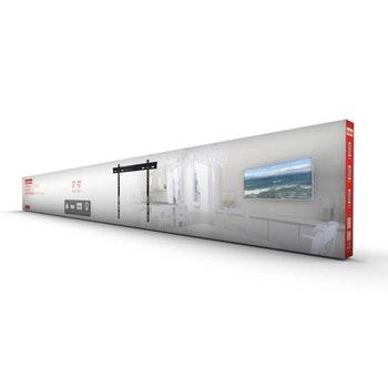 """Suporte Fixo Ultra Slim para TV LED, LCD, Plasma, 3D e Smart TV de 37"""" a 70"""" - SBRP 300 - Brasforma - 550841 - Unitário"""