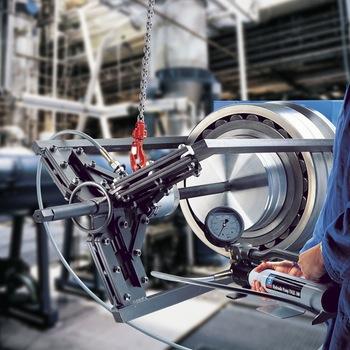 Extrator de garra acionado hidraulicamente para trabalho pesado - SKF - TMHP 15/260 - Unitário