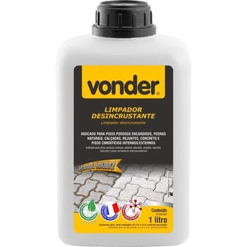 Limpador Desincrustante Biodegradável 1 Litro - Vonder - 51.84.000.100 - Unitário