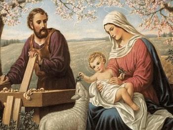Revestimento Art Sacra Sagrada Família 61 x 45,5cm - Ceusa - 10221 - Unitário