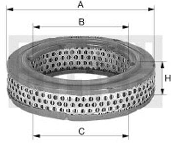 Filtro de Ar - Mann-Filter - C 1535/1 - Unitário