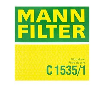 Filtro de Ar - Mann-Filter - C1535/1 - Unitário