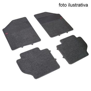 Tapete de Carpete+Borracha - Borcol - 51254 - Kit