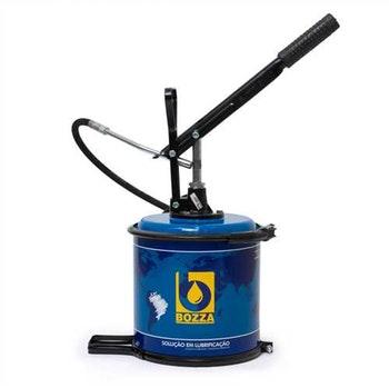 Bomba Graxa Manual 7Kg com Mangueira 1,30m e Disco Compactador - Bozza - 8522-G2 - Unitário