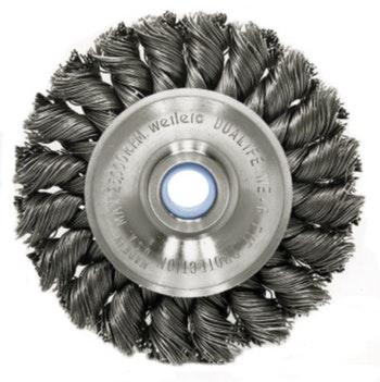 Escova Circular Aço Trançado 115x12mm 0,50mm - Weiler - 37308 - Unitário