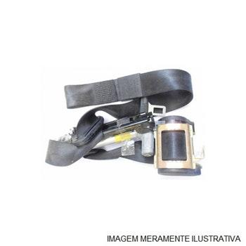 Cintos de Segurança Três Pontas - Preto - Willtec - ABS 01 - Unitário