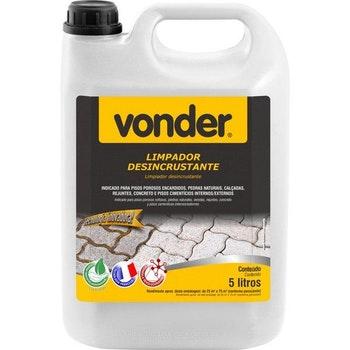 Limpador Desincrustante Biodegradável 5 Litros - Vonder - 51.84.000.500 - Unitário