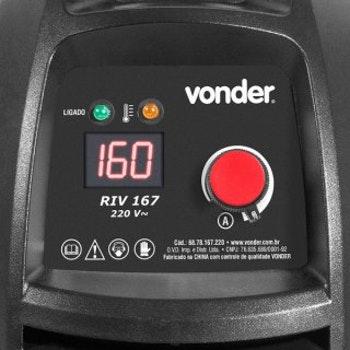 Inversor Digital para Solda, 220 V~, Riv 167 - Vonder - 68.78.167.220 - Unitário
