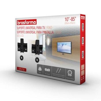 """Suporte Fixo Universal para TV LED, LCD, Plasma, 3D e Smart TV de 10"""" a 85"""" - SBRU 758 - Brasforma - 1165712 - Unitário"""