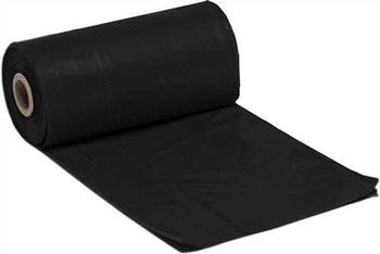 Lona Plástica Preta 4x100m +-100 Micras 54kg 2031 - Lonax - 2031 - Unitário