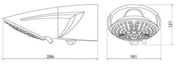 Ducha Top Jet Eletrônica Branco 220V 7500W - Lorenzetti - 7541507 - Unitário
