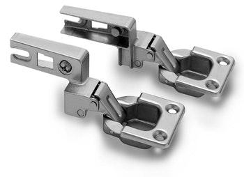 Kit Dobradiça MN57 para Porta Basculante 95° com 2 peças FGVTN